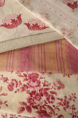 Stripe French Linen Fabric