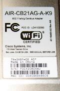 PCMCIA Wireless Card