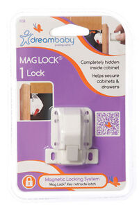 DreamBaby-Mag-Lock-Single-Child-Proof-Safety-Magnetic-Cabinet-Door-Locks-L153