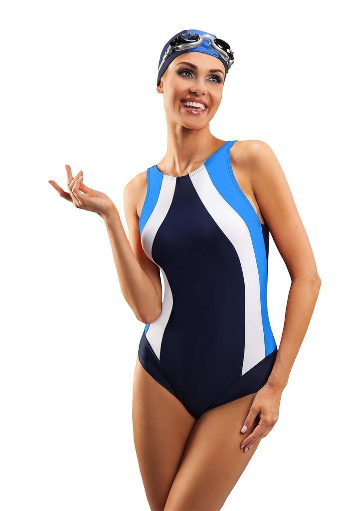 bced3a2be95 Top girls women sport swimming costume one piece swimsuit swimwear uk size  8-18