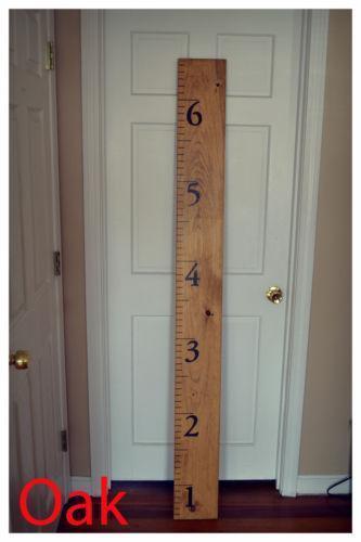 Ruler Growth Chart Bedroom Playroom Amp Dorm Decor Ebay