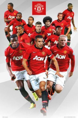 Manchester United Poster Ebay