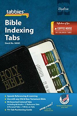 Tabbies Reflections Best Series Bible Indexing 90 Tabs Old & New Testaments NEW