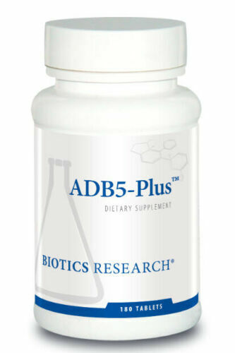 Biotics Research ADB5-Plus 180 Tablets Expiration 03/2022