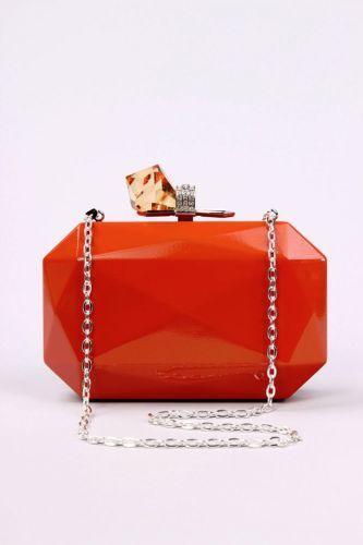 Woman Wallet Hard Case Clutch Ebay