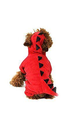 nousaur Kostüm Outfit Halloween (Hund Drache Halloween-kostüme)