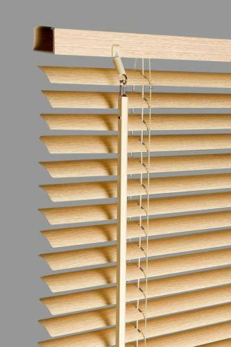 wooden venetian blinds 180cm ebay. Black Bedroom Furniture Sets. Home Design Ideas