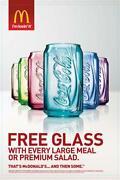 McDonalds Coca Cola Glasses