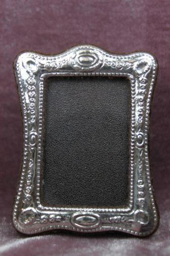 vintage silver picture frame ebay. Black Bedroom Furniture Sets. Home Design Ideas