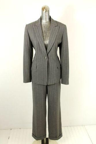 Womens Pinstripe Suit Ebay
