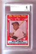 Willie Mays Graded Baseball Cards
