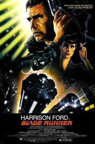BLADE RUNNER - CLASSIC MOVIE POSTER 24x36 - HARRISON FORD 52577
