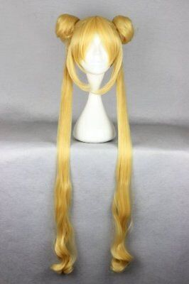 Sailor moon Cosplay Wig Tsukino Usagi Bishojo warrior Popular sale Japan - Sailor Moon Costume Sale
