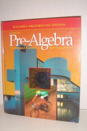Glencoe pre algebra books ebay fandeluxe Choice Image