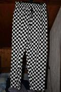 Black and White Chef Trousers