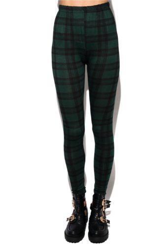 aa9cba58bed8a Womens Tartan Trousers | eBay