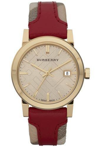Burberry watch women gold ebay for Burberry watches