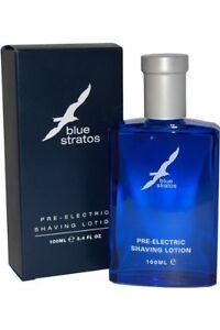 Blue Stratos Pre-Electric Shaving Lotion 100ml