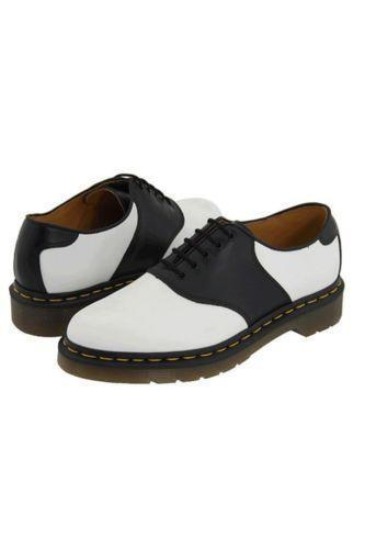 mens black and white saddle shoes ebay