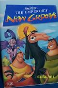 The Emperors New Groove VHS 2001