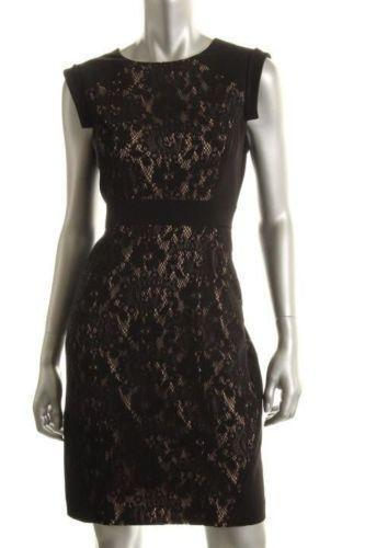 Petite Black Lace Dress Ebay