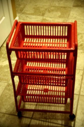 Rolling Storage Cart Ebay