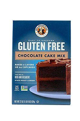 King Arthur Flour Chocolate Cake Mix, Gluten Free, 22-Ounce (Pack of 3) Chocolate Gluten Free Flour