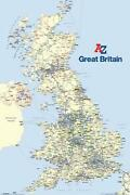Great Britain Wall Map