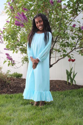 Girls Blue Nightgown Ebay