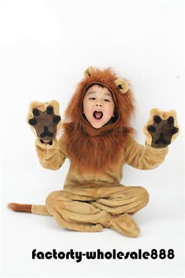 Halloween Lion Mascot Costume Adults kids Size Birthday party game fancy dress - Party Halloween Games Adults