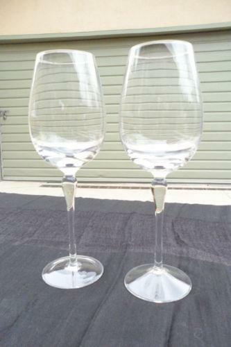 Lenox wine glasses ebay - Lenox colored wine glasses ...
