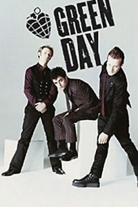 GREEN DAY GROUP - GREEN DAY AMERICAN IDIOT POSTER WHITE 37
