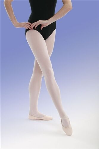 Capezio Plus Size Hold & Stretch Footed Tight for Women New Style 1862, 1X or 2X