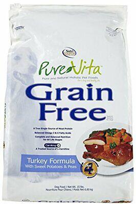 Tuffy'S Pet Food 131642 Tuffy Pure Vita Grain Free Turkey And Sweet Potato Fo...