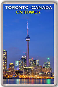 CN-TOWER-TORONTO-CANADA-FRIDGE-MAGNET-SOUVENIR-IMAN-NEVERA