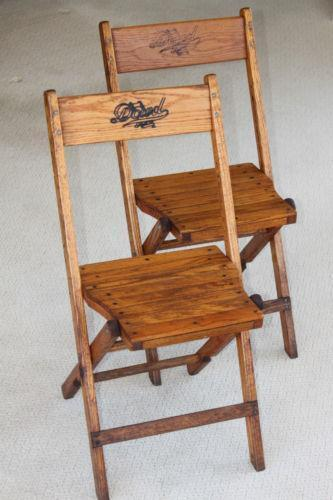antique wooden folding chair ebay