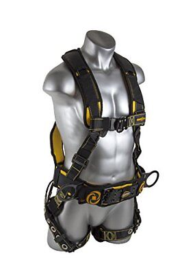 Guardian Fall Protection 21031 Cyclone Construction Harness With Qc Chesttb ...