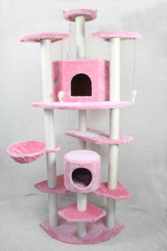 Free Scratch Cards >> Pink Cat Tree | eBay