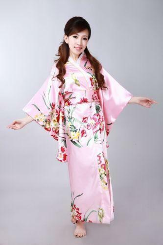 Japanese Kimono Women Ebay