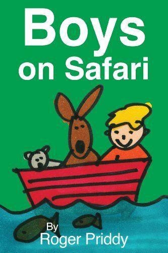 Boys on Safari, New, Roger Priddy Book