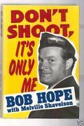 Bob Hope Signed Book