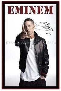 Eminem PosterVintage Eminem Poster