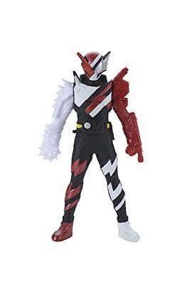 BANDAI Kamen Rider Build Rider Hero Series 8 Fire Hedgehog Form 17cm Figure