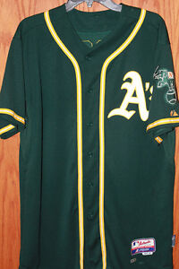 Oakland-A-039-s-all-star-catcher-stephen-vogt-game-used-jersey