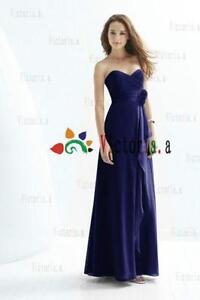 Blue Floor Length Dress