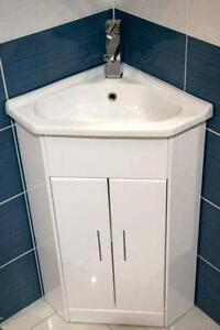 bathroom corner sink cabinet