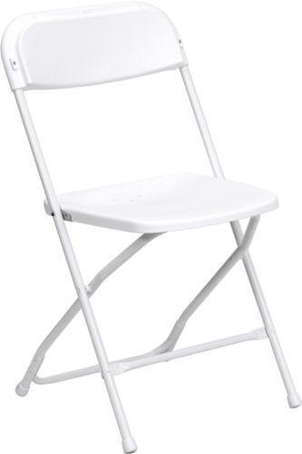 Charmant White Folding Chairs | EBay