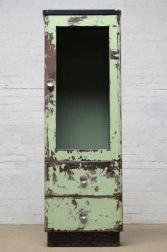 Antique Metal Cabinets
