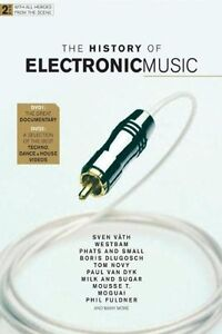 THE HISTORY OF ELECTRONIC MUSIC 2-DVD NEU TECHNO HOUSE MUSIK SVEN VÄTH YELLO