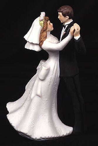 dancing couple wedding cake topper and groom figurines ebay 13328